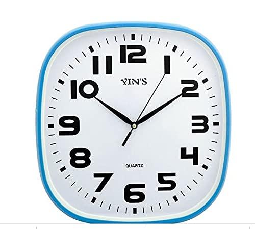 Relógio De Parede Retangular 30cm Números Grandes