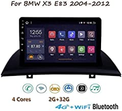 DUMXY Android 8.1 GPS Navigation Stereo Radio, para BMW X3 E83 2004-2012, 9