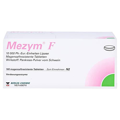 MEZYM F magensaftresistente Tabletten 100 St