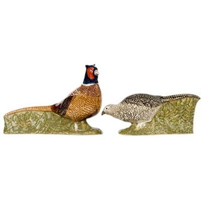 Quail Ceramics - Pheasant Salt And Pepper Pots from Quail Ceramics