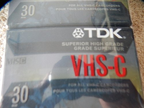 Amazing Deal Tdk Vhs-c30