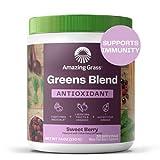 Amazing Grass Greens Blend Antioxidant: Super Greens Powder with...