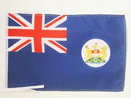 AZ FLAG Flagge Hongkong ALT 45x30cm mit Kordel - HK Fahne 30 x 45 cm - flaggen Top Qualität
