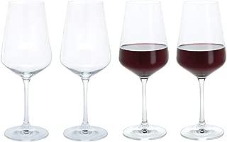 Dartington Crystal Set of 4 Red wine Glasses 15.8fl - Gift Boxed
