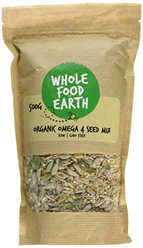 Wholefood Earth Organic Omega 4 Seed Mix,, 500 g