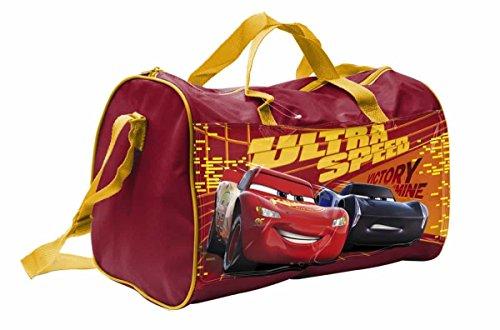 Star Licensing Disney Cars Sporttasche für Kinder, 38 cm, Mehrfarbig