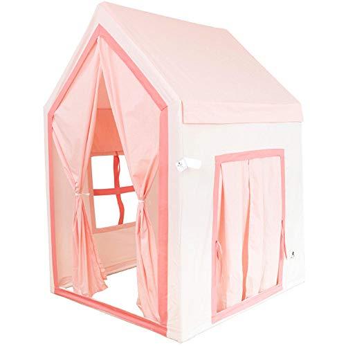 KUSAZ Tienda para niños Casa de Juegos para niños y niñas Baby Dream Castle-Rosado