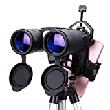J-Love Binoculares HD 10X42 Binoculares Profesionales a Prueba de Agua con nitrógeno Bak4 Prism Optics Telescopio con Zoom de Alta Potencia para Acampar Senderismo Viajes Caza Observación de Aves
