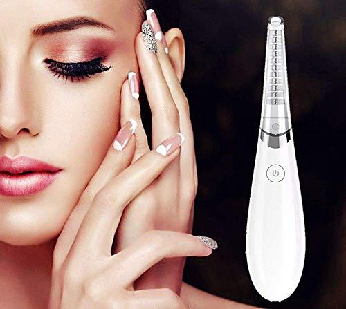 Wimpernzange,Beheizbare Wimpernzange, wiederaufladbarer Wimpernzangen, Upgrade Warme Wimpernzange Elektrisches Wimpernzangen-Werkzeug