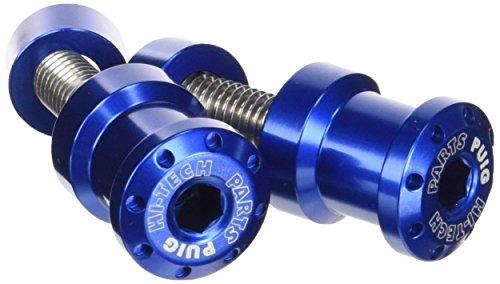 Eingriffsrollen für Montageständer Set Puig Hi-Tech 8MM blau