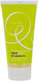Deva Curl B'Leave-In Curl Boost and Volumizer, 6-Ounces (Pack of 2)