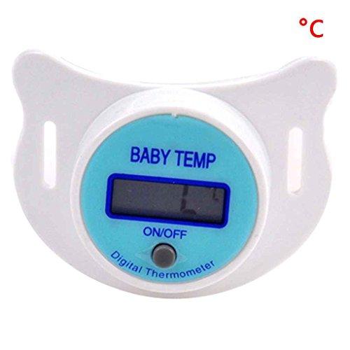 Mengonee Baby Nippel Thermometer medizinische Schnuller LCD Digital Thermometer Gesundheit Sicherheit Pflege Thermometer für Kinder Baby Zubehör