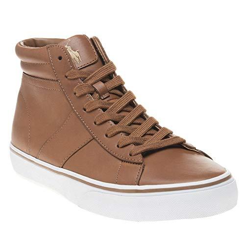 Polo Ralph Lauren Shaw-SK-VLC Men's Polo Tan Shoes Size 9