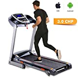 Miageek Fitness Folding Electric Jogging Treadmills with...
