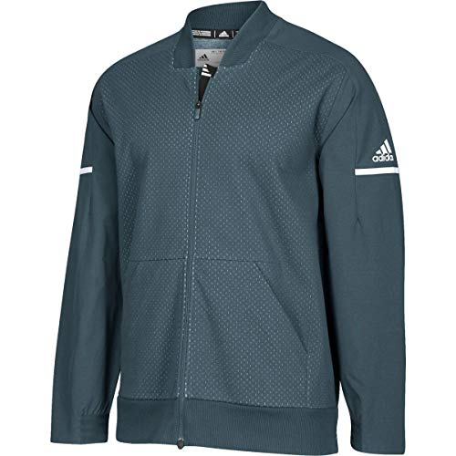 adidas Squad Bomber Jacket - Men's Multi-Sport 4XLT Onix/White