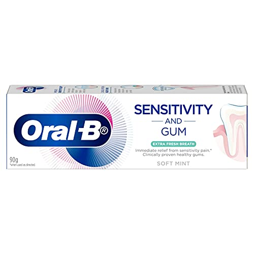 Oral-B Sensitivity & Gum Fresh Breath Toothpaste, 90 grams