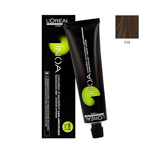 L'Oréal Inoa 60Gr 7.13 - Blond Cendré Doré