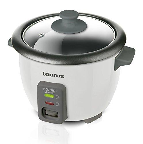 Taurus RICECHEFCOMPCT Arrocera Rice Chef Compact 300W, 0.6L, 2-3 Raciones, 300 W