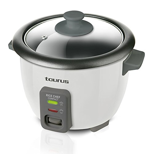 Taurus Rice Chef Compact Vaporiera, 300 W, Plastica,...