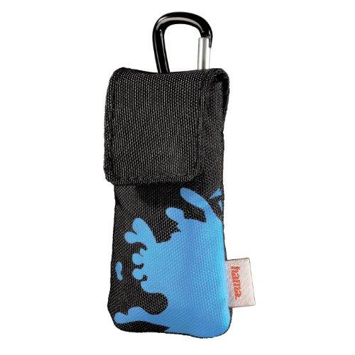 Hama Tasche für web'n'walk-Stick, Schwarz/Blau