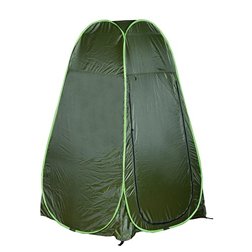 Filfeel Shower Tent Pop Up Outdoor Toilet Tent for Camping Dressing Room Portable Travel Privacy Tent with Carrying Bag, 75''(H) x 40''(L) x 40''(W)