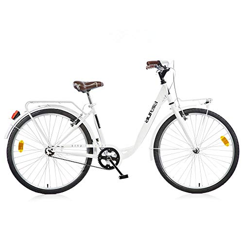 Bicicletta da Donna 26' 1026CY City Senza Cambio Aurelia Bianco