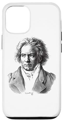 iPhone 12/12 Pro Ludwig van Beethoven portrait Music Teacher Piano player Case