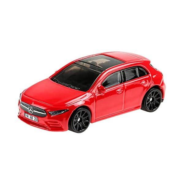 Hot Wheels Colección Nightburnerz Pack 10 mini coches de juguete, regalo para niños +3 años (Mattel GTD80)