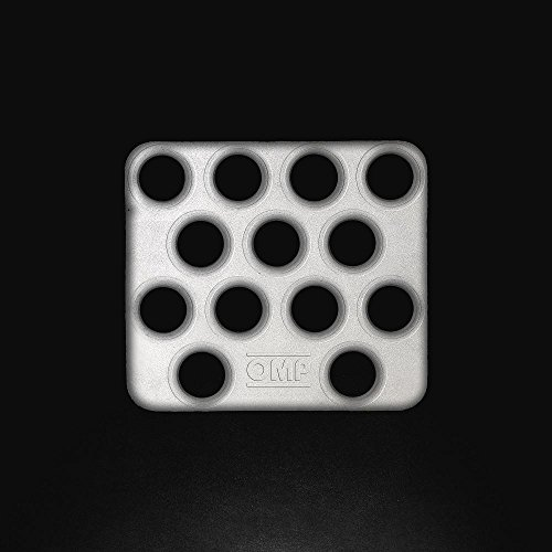 OMP OMPOA/1866 Pedales Aluminio, Negro, XS