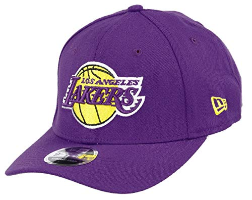 New Era Los Angeles Lakers 9fifty Stretch Snapback cap NBA Essential Purple - One-Size