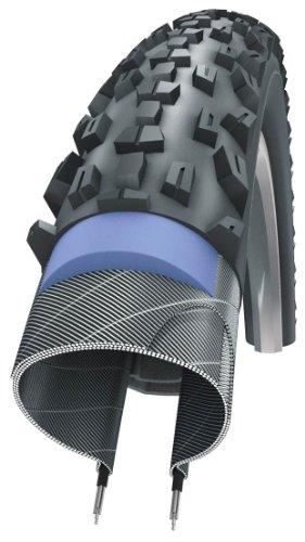 Schwalbe Fahrradreifen Marathon Plus MTB Smart Guard 54-559 B/B+RT HS412 DC 67EPI Reifen, schwarz mit reflektierendem Streifen, Standard