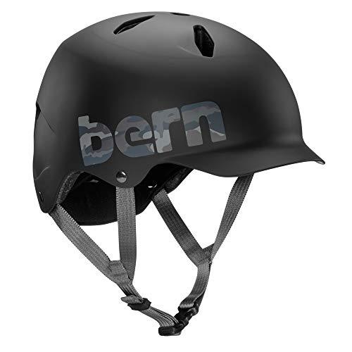 Bern Bandito Casco de Bicicleta para niño, Niño, Color Neg