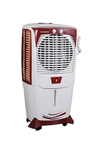 Crompton Greaves Ozone 55 Ltrs Desert Air Cooler (White/Maroon)