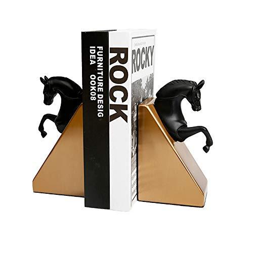Bookends Dark Horse Statues Figurine Resin Handicrafts Regalos Regalos Coleccionistas Decorativos Oficina Sala De Estar Dormitorio Pórchido, Etc.