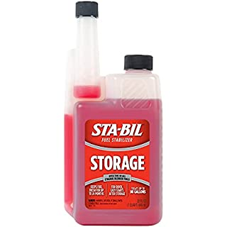 STA-BIL (22214) Storage Fuel Stabilizer - Guaranteed To Keep Fuel Fresh Fuel Up To Two Years - Effective In All Gasoline Including All Ethanol Blended Fuels - Treats Up To 80 Gallons, 32 fl. oz. (B000B68V6I) | Amazon price tracker / tracking, Amazon price history charts, Amazon price watches, Amazon price drop alerts