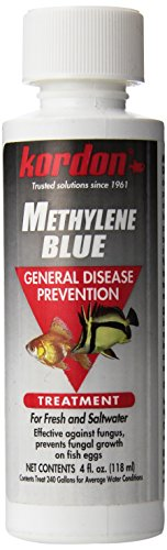 Kordon #37344 Methylene Blue-General Disease Prevention Treatment for Aquarium, 4-Ounce, Blues &...