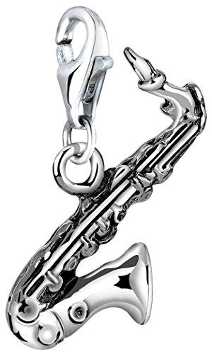 Nenalina Charm Saxophone Anhänger in 925 Sterling Silber für alle gängigen Charmträger 713189-000
