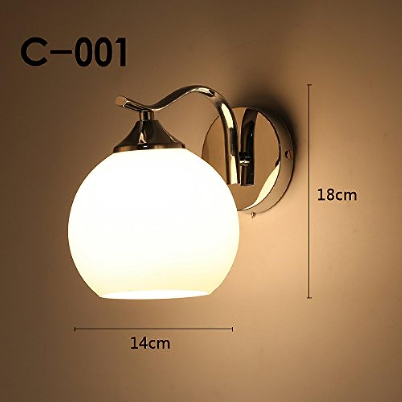 StiefelU LED Wandleuchte nach oben und unten Wandleuchten Wand Leuchte über Treppen, Wohnzimmer Wand Lampen LED Wandleuchte Schlafzimmer Nachttischlampe, C-001 mit 7 Watt LED-Lampe