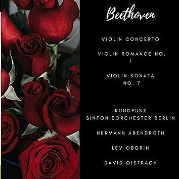 Beethoven: Violin Concerto, Violin Romance No. 1, Violin Sonata, No. 7