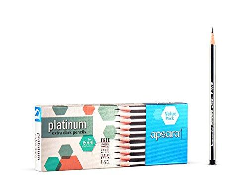Apsara Platinum Pencils Value Pack - Pack of 20