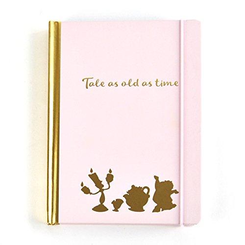 Disney Diario de la Bella y la Bestia, A5, Color Rosa, 240 páginas rayadas