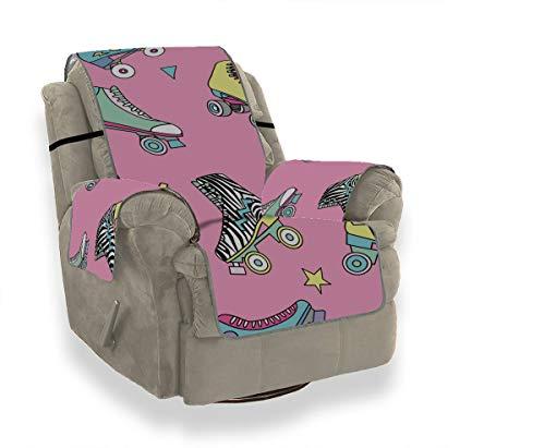JEOLVP Sport Rollschuh Schuhe Sofakissen Pad Sofa Spandexbezüge Sofa Stuhlbezüge Für Wohnzimmer Möbel Beschützer Für Haustiere, Kinder, Katzen, Sofa