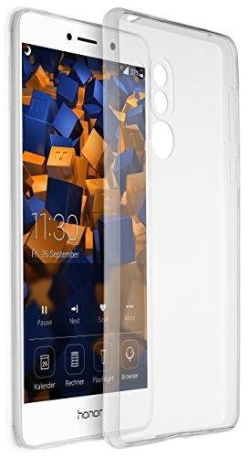 mumbi Hülle kompatibel mit Honor 6X Handy Hülle Handyhülle dünn, transparent