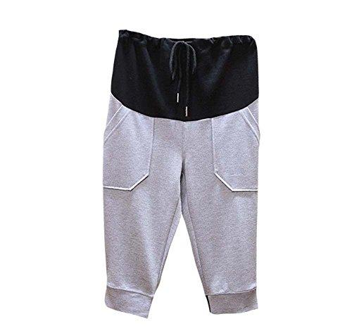 2018 Lässige Mode Mutterschaft Sport Hosen 3/4 Schnürung Sommer Shorts