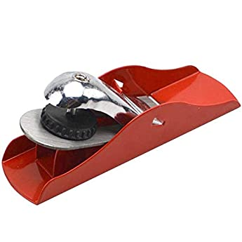 Foto di Pialletto manuale per legno, in scatola di legno, in metallo, regolabile, con base piatta