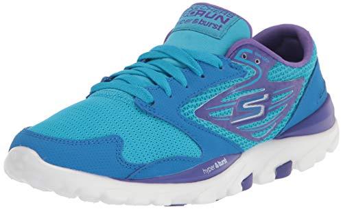 Skechers womens Go Og Hyper - Minimal Running Shoe, Blue/Purple, 10 US
