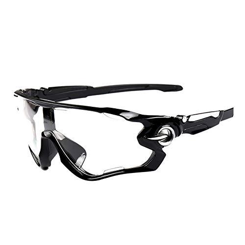 Meigold Diseño único de Bicicleta Bicicleta de montaña Deportes al Aire Libre Gafas Gafas de Sol Protección UV Ligero Confort Unisex