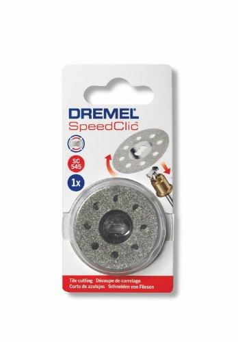 Dremel SC545 EZ SpeedClic diamantdoorslijpschijf (ø 38 mm, slijpschijf voor het snijden en scheiden van metalen en harde materialen)