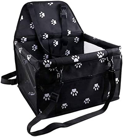 Pet Reinforce Car Booster Seat for Portable Cat Jacksonville Mall Dog Spasm price Breathab and