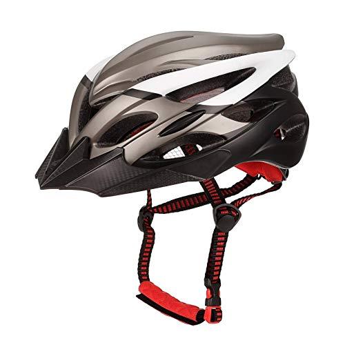 Mountain Bike Helmet, Road Cycling Safety Helmet Unisex, Adjustable Lightweight Mountain Road Bike Helmets Comfortable, Lightweight, Breathable